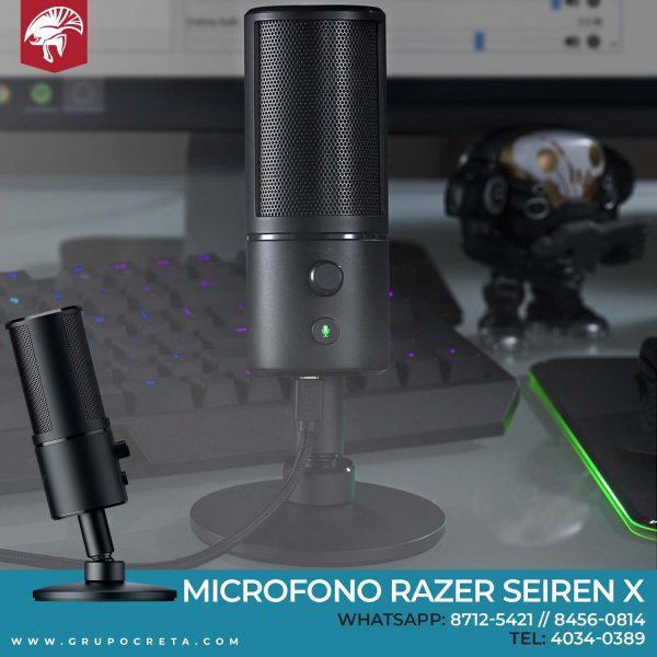 microfono razer seiren x Creta Gaming