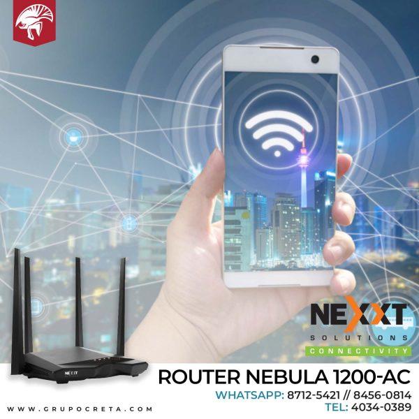Router Nexxt Nebula 1200ac