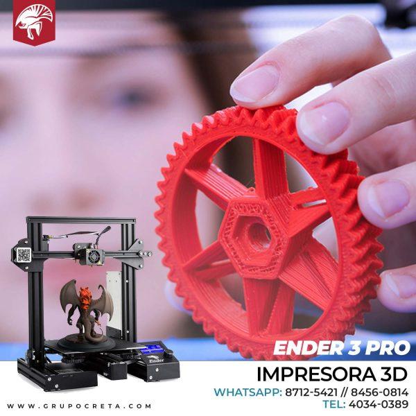 Impresora 3D Ender 3 PRO Creta Gaming