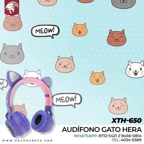 Audifono gato hera XTH-650