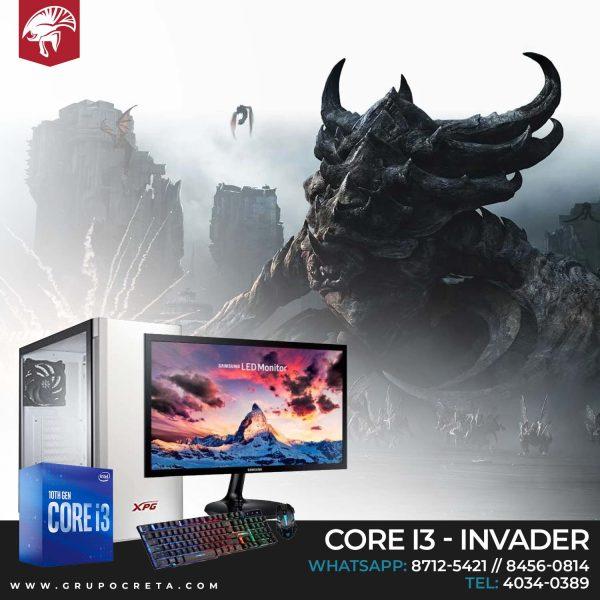Computadora completa intel i3 - Invader