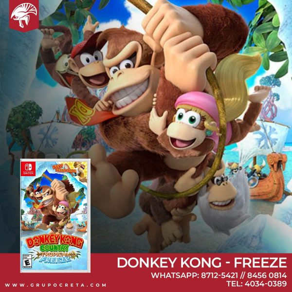Donkey Kong Country Tropical Freeze 38600