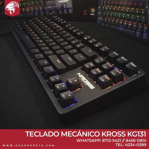 Teclado mecanico kross ke-kg131
