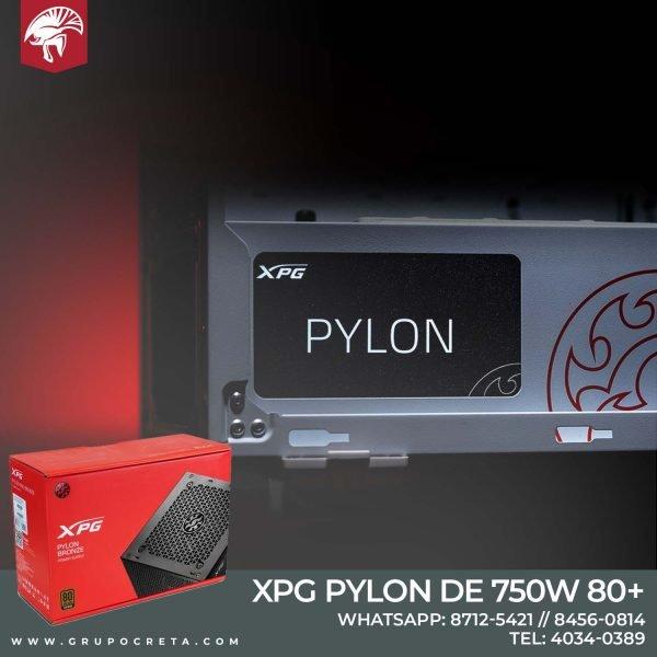 Fuende de poder XPG PYLON de 750W 80+ bronze