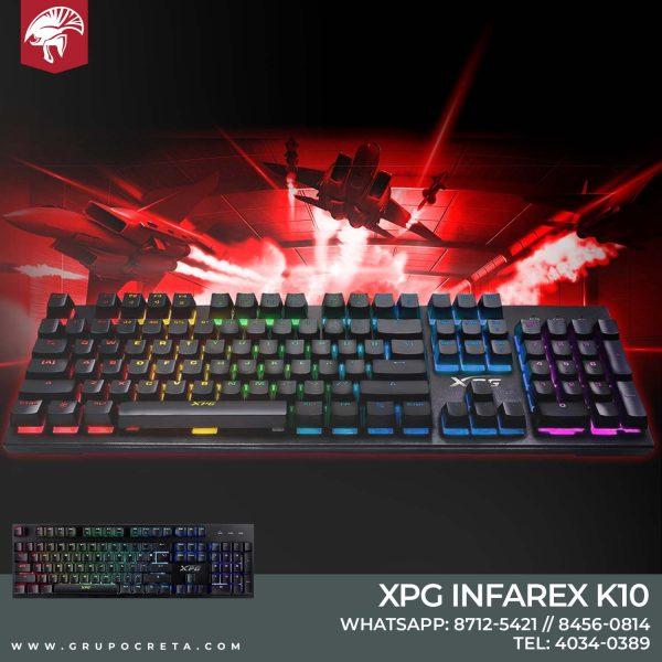 Teclado XPG INFAREX k10