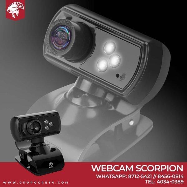 Camara web marvo scorpion mpc10
