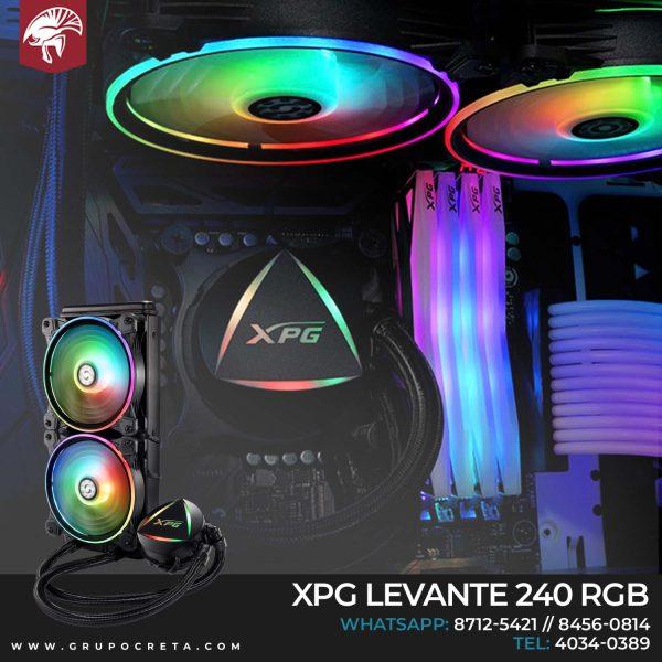 Enfriamiento líquido XPG Levante 240mm