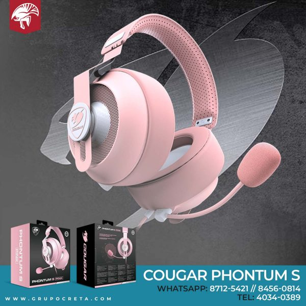 headset cougar phontum s rosa