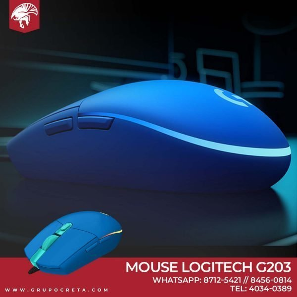 Mouse Logitech G203 blue