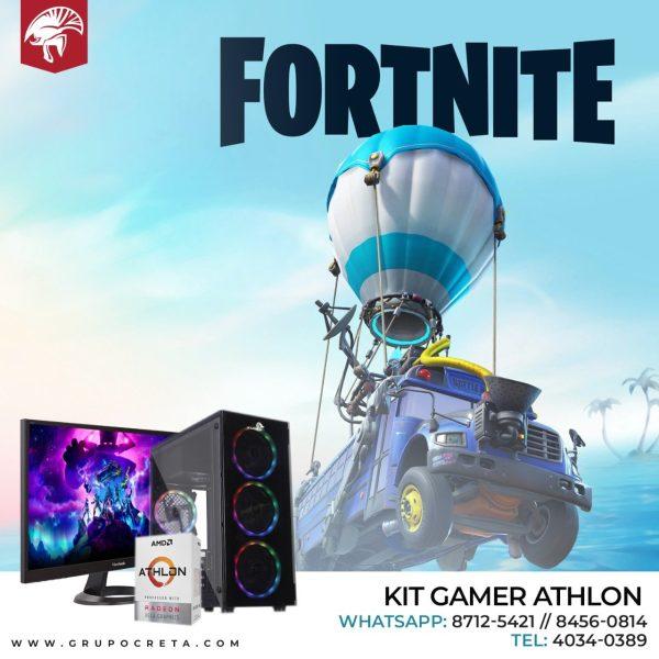 Computadora de escritorio Kit Athlon 320GE Creta Gaming