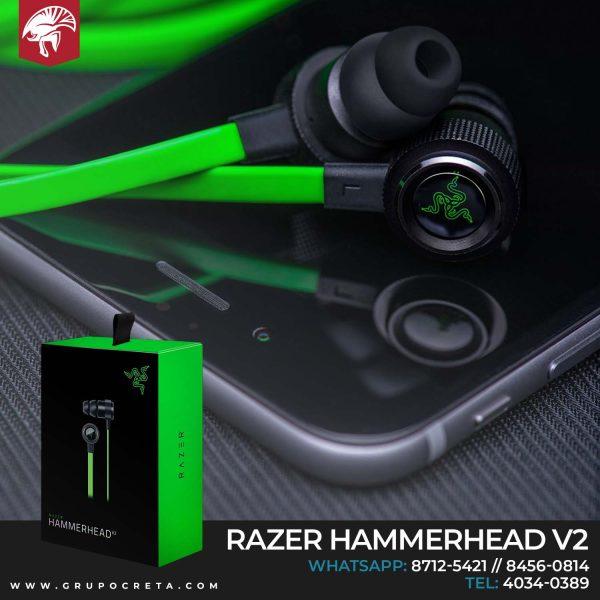 audifonos razer hammerhead v2