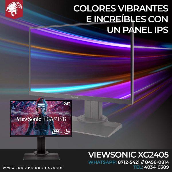Monitor Gamer Viewsonic XG2405 Creta Gaming