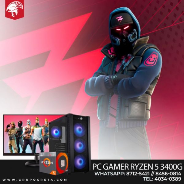 PC Gamer RYZEN 5 3400G