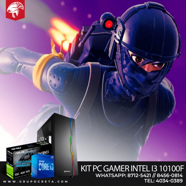 Computadora de Escritorio Kit INTEL I3 10100F 16504GB