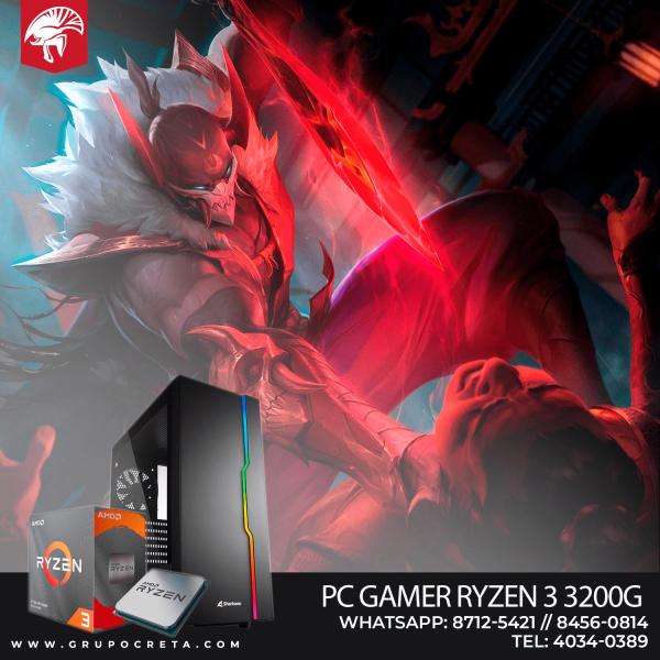 Computadora PC GAMER RYZEN 3 3200G