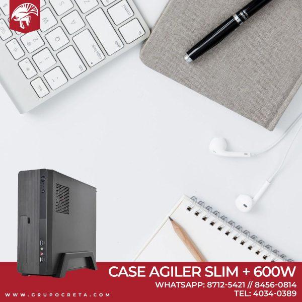 Case Agiler Slim +600w