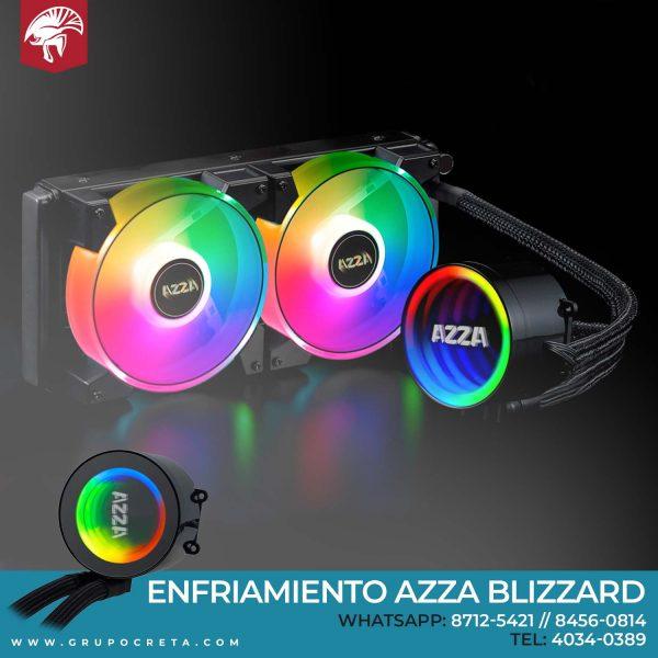 Enfriamiento Líquido Azza Blizzard 240MM