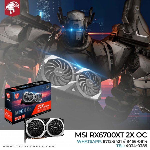 MSI 12GB RX6700XT MECH 2X OC