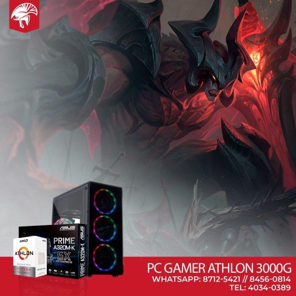 PC Gamer Athlon 3000G