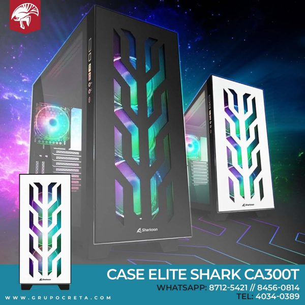 Case Sharkoon ELITE SHARK CA300T