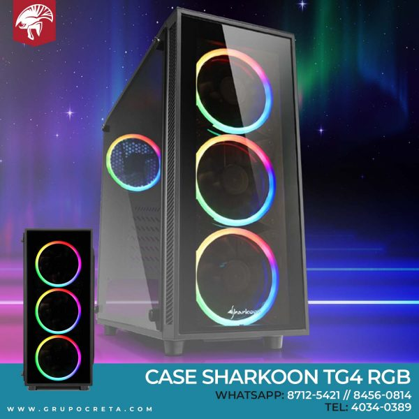Case Sharkoon TG4 RGB