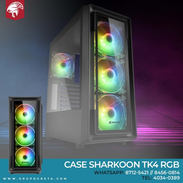 Case Sharkoon TK4 RGB