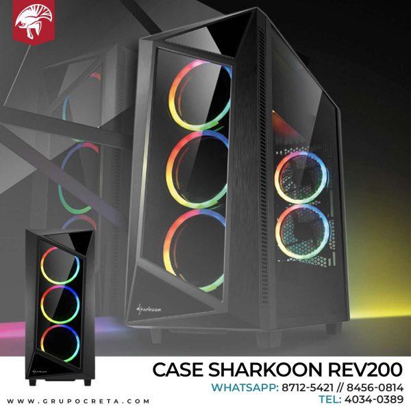 Case Sharkoon REV200
