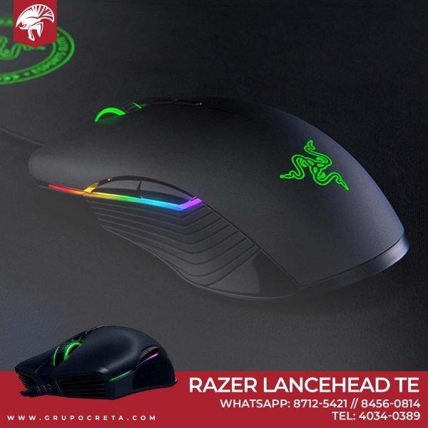 Mouse Ambidiestro Gaming Razer Lancehead TE