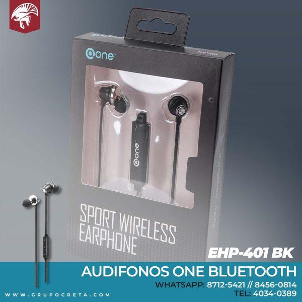 Audifonos one bluetooth EHP-401 BK