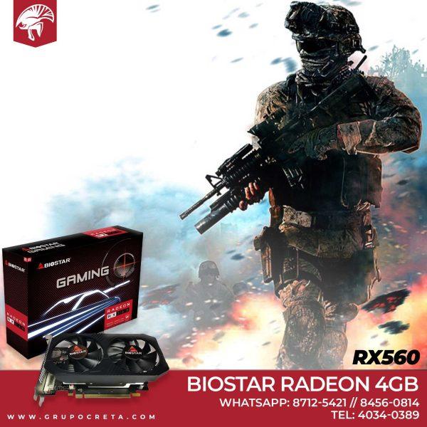 Biostar Radeon RX560 4GB