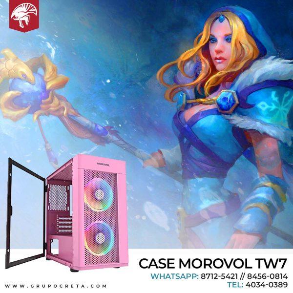 Case Morovol TW7 rosado