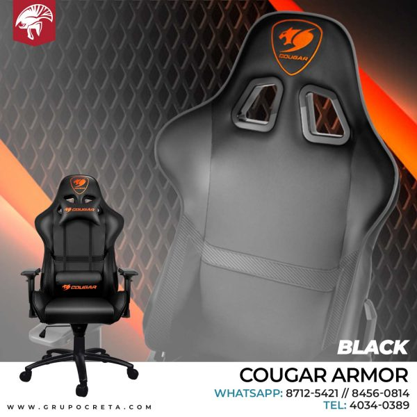 Cougar Armor black Creta Gaming