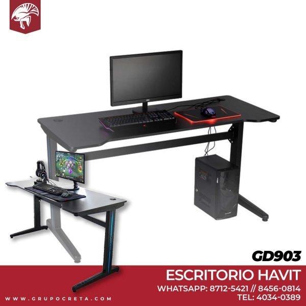 Escritorio Gamer Havit GD903 Creta Gaming