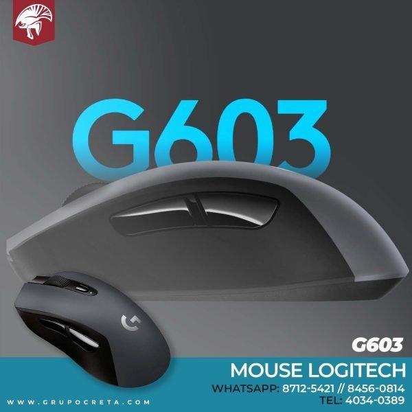 Mouse Logitech G603 Inalambrico Creta Gaming