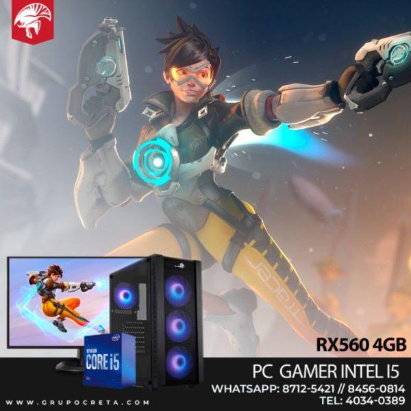 PC Gamer Intel i5 rx560 4 GB
