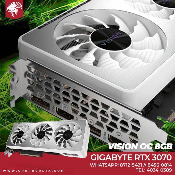RTX Gigabyte Visión RTX 3070 de 8 GB