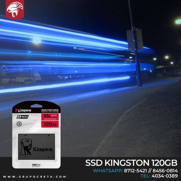 SSD Kingston de 120 GB Creta Gaming