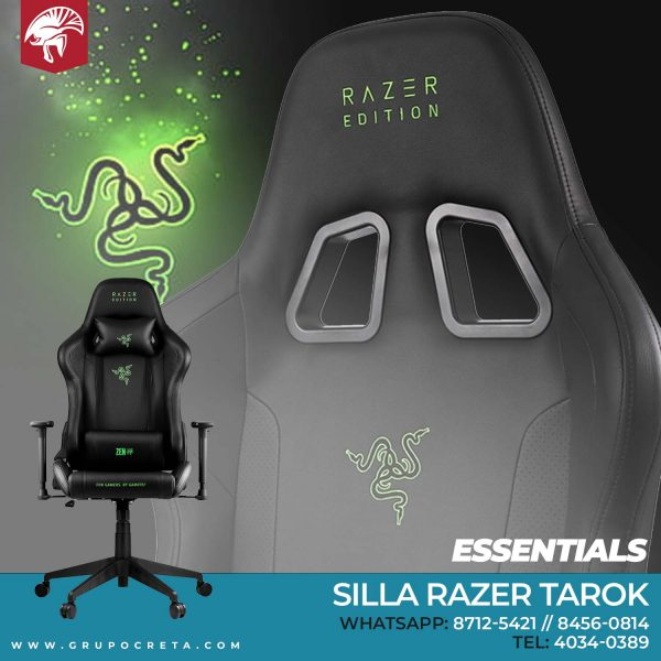 Silla Razer Tarok Essentials Creta Gaming