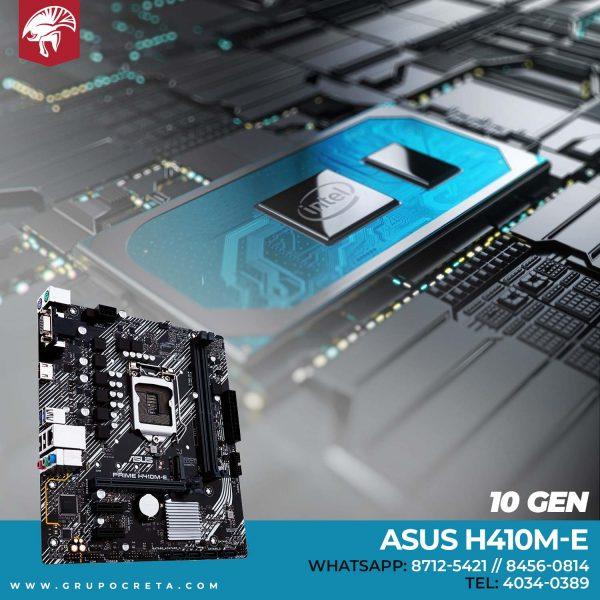 Tarjeta madre Asus H410m-e Creta Gaming