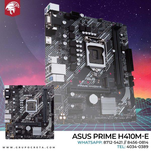 Tarjeta madre Asus Prime H410M-E Creta Gaming