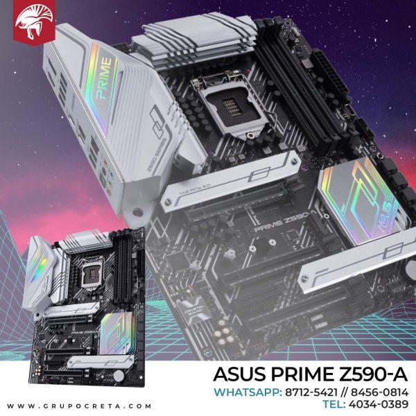Tarjeta madre Asus Prime Z590-A Creta Gaming