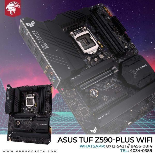 Tarjeta madre Asus TUF Gaming Z590-PLUS WIFI Creta Gaming