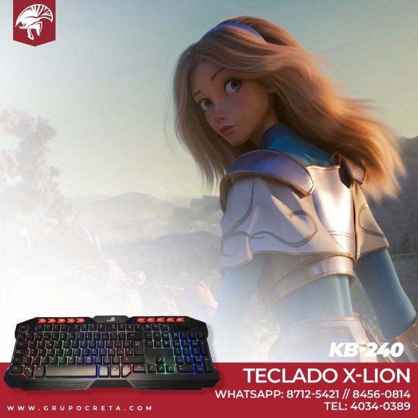 Teclado X-Lion KB-240