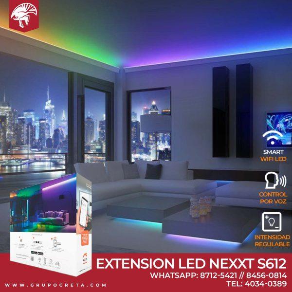 Extensión de luces LED inteligente conexión Wi-Fi NHB-S612