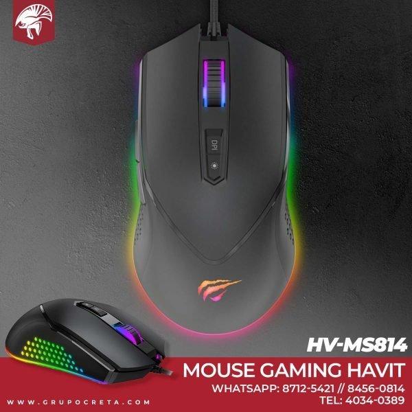 Mouse Gaming Havit hv-ms814 Creta Gaming
