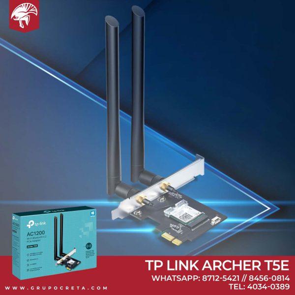 Adaptador AC1200 Wi-Fi Bluetooth 4.2 PCIe