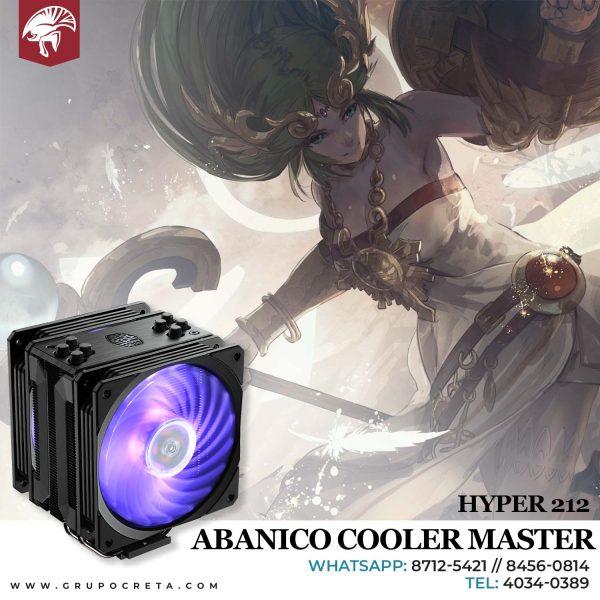 Abanico cooler master hyper 212 Creta Gaming