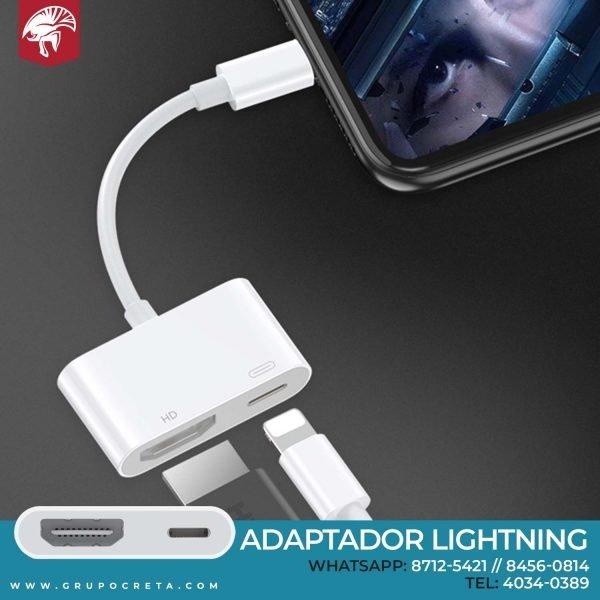Adaptador AV digital Lightning Apple Creta Gaming