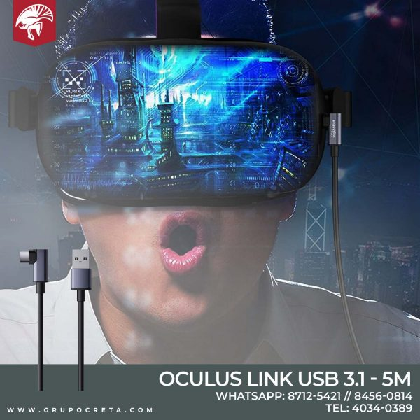 Cable Link para Oculus Quest 2 Creta Gaming