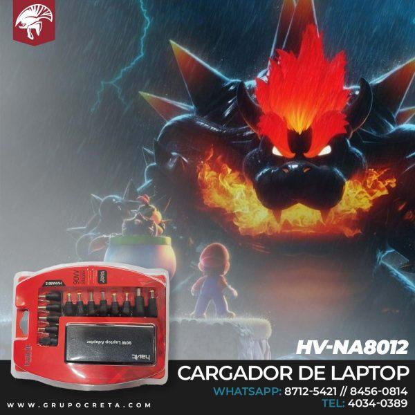 Cargador Universal para Laptop HV-NA8012 Creta Gaming